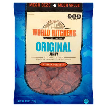 World Kitchens Original Jerky, 10 oz
