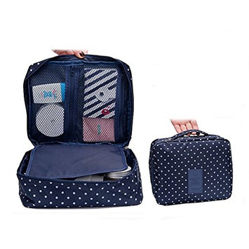 Ewandastore Portable Travel Organizer Cosmetic Waterproof Makeup Bag Storage Carry Case Toiletry Kit Pouch Bag