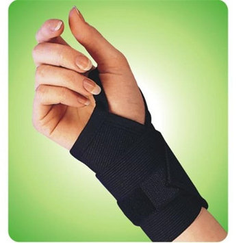 Living Health Products AZ-74-1311-4W 4 in. Wrist Band with Thumb Loop - White