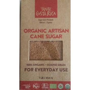Assukkar, S.a. Tayutic Coarse grain Organic Whole Cane Sugar 16 Oz - Az ocar Integral Org! nico grano grueso (Pack of 6)
