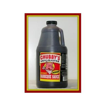 Chubby's Grillmaster BBQ Sauce Medium 1/2 Gallon