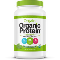 Organic Protein Powder - Plant Based Natural Unsweetened (Shipping April 2016)