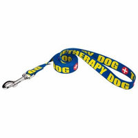 Country Brook Design® 1 Inch Therapy Dog Leash - 2 Foot
