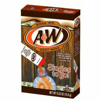 A&W Root Beer Singles To Go! Drink Mix