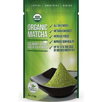 Ceremonial Matcha Green Tea Powder - 1oz - Highest Quality Japanese Matcha - Perfect for Tea Ceremonies - Made from 100% Organic Tea Leaves - Detox Tea [Ceremonial Grade 1oz]