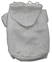 Mirage Pet Products 5301 XXLGY Blank Hoodies Grey XXL 18