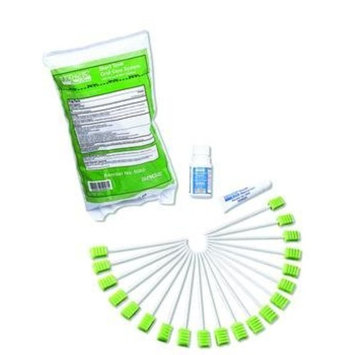 (EA) Toothette Short Term Swab System with Perox-A-Mint Solution - SP: Health & Personal Care