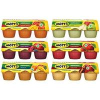 Mott's Applesauce Sampler Pack 6/4oz Cups (Variety Pack of 6) (36 Cups Total)