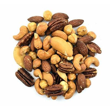 Anna and Sarah Roasted & Unsalted Mixed Nuts, 5 Lbs