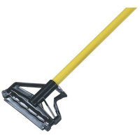Carlisle 4166404 Commercial Side-Gate Fiberglass Wet Mop Handle, 60