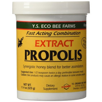 YS Eco Bee Farms Propolis Extract in Honey- 11.4 oz (Pack of 2)