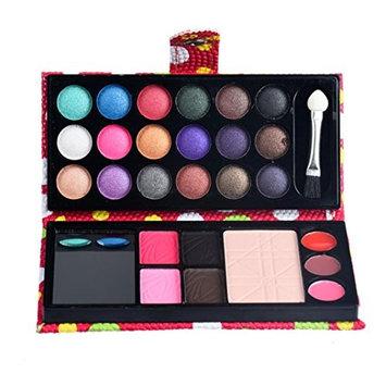 YJYdada 26Colors Eye Shadow Makeup Palette Cosmetic Eyeshadow Blush Lip Gloss Powder
