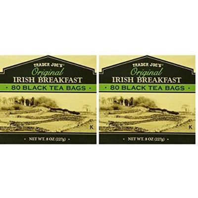 Trader Joe's Original Irish Breakfast Black Tea Bags (Pack of 2) 160 tea bags