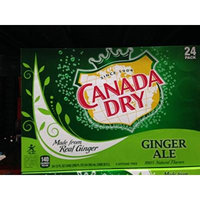 Canada Dry ginger ale 24/12 oz (pack of 2)