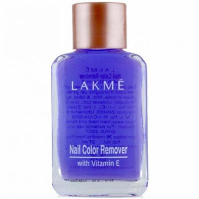 Lakme Nail Color Remover, 27ml (Pack Of 3)