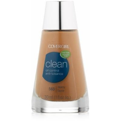 CoverGirl Clean Oil Control Liquid Makeup, Tawny (N) 565, 1.0-Ounce Bottles (Pack of 2) by COVERGIRL