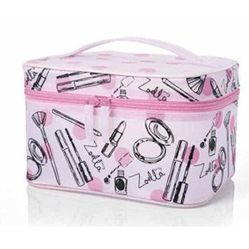 Zoella Beauty Pink Frosted Vanity Case / Cosmetics / Make Up Case by Zoella Beauty
