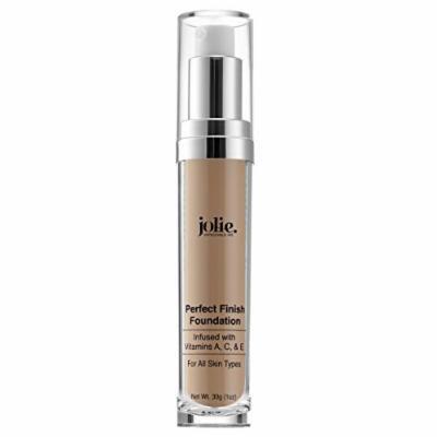 Jolie Perfect Finish Liquid Foundation Makeup SPF 15 Oil Free (MW2)