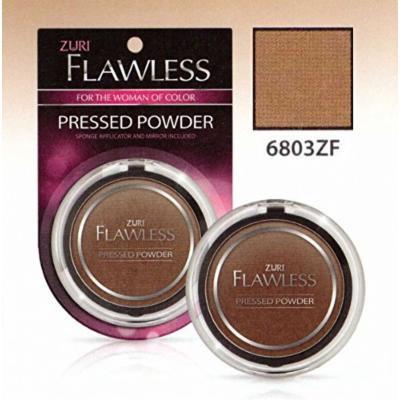 Zuri Flawless Pressed Powder - Honey Brown (Pack of 4)