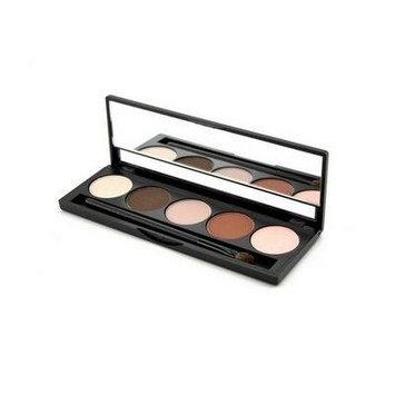 Jolie Micro Fine Mineral 5 Shade Eyeshadow Compact W/ Brush - Classy