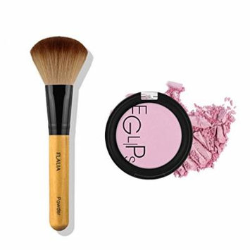 Eglips Apple Fit Blusher and Flalia Premium Modern Brush SET Lavender Bloom + Choco Brush