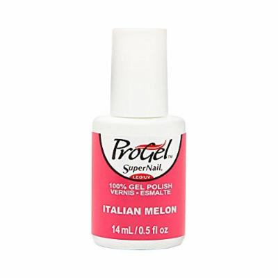 Supernail Gel Polish for Nails, Italian Melon Creme, 0.5 Fluid Ounce by Super Nail