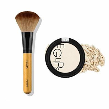 Eglipse Apple Fit Blusher and Flalia Premium Modern Brush SET Highlighter + Choco Brush