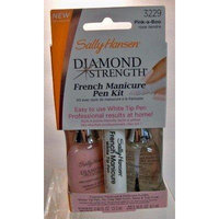 Sally Hansen Diamond Strength French Manicure Pen Kit, Pink-A-Boo [3229] 1 ea by Sally Hansen