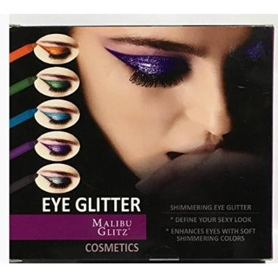 Lot of 3 Boxes of Shimmering Eye Glitter/Pencils {5 Colors each box x 3 boxes}