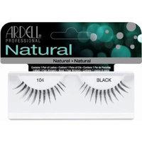 Ardell Fashion Lashes False Eyelashes - #104 Black (Pack of 4) by Ardell
