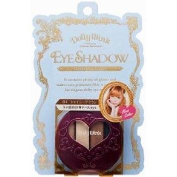 DOLLY WINK Koji Eye Shadow, 04 Shiny Brown, 0.5 Pound by Dolly Wink