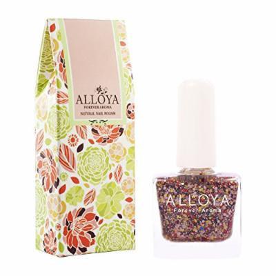 Alloya Natural Non Toxic Nail Polish, Water Based, Full Color (078)