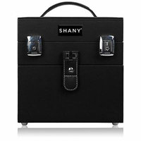 SHANY Color Matters - Nail Accessories Organizer and Makeup Train Case - Black by SHANY Cosmetics