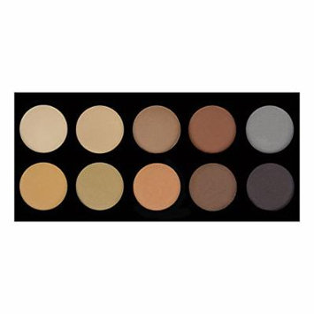 Crown Brush 10 Color Brow Palette (BROW02)