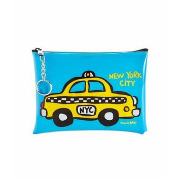 Cosmetic Case with Keyring Taxi