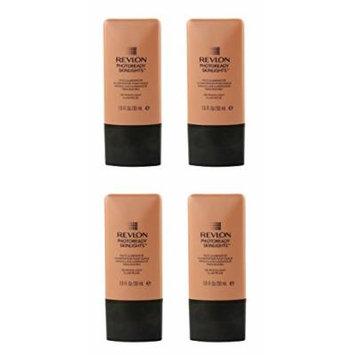 Revlon Photo Ready Skinlights Face Illuminator - Peach Light (4 Pack) + FREE Schick Slim Twin ST for Dry Skin