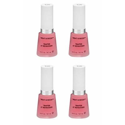 Revlon Nail Treat and Boost, 930, 0.5 Fl Oz (4 Pack) + FREE Old Spice Deadlock Spiking Glue, Travel Size, .84 Oz