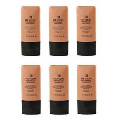 Revlon Photo Ready Skinlights Face Illuminator - Peach Light (6 Pack) + FREE Curad Bandages 8 Ct