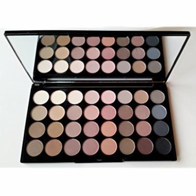 Makeup Revolution Eyeshadow Palette, Flawless Matte Ultra 32