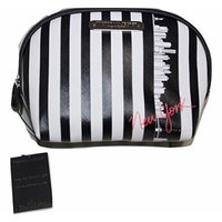 Victoria's Secret New York Exclusive Striped Travel Pouch Makeup Bag
