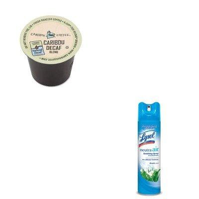 KITGMT6995CTRAC76938EA - Value Kit - Green Mountain Coffee Roasters Caribou Blend Decaf Coffee K-Cups (GMT6995CT) and Neutra Air Fresh Scent (RAC76938EA)