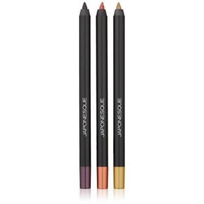 JAPONESQUE Velvet Touch Metals Eye Pencil Set
