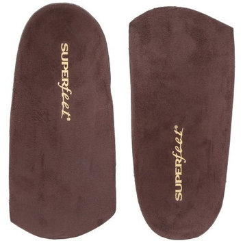 Superfeet EASYFIT Men's Dress Shoe Comfort Orthotic Inserts for Heel and Arch Support, Mens, Java