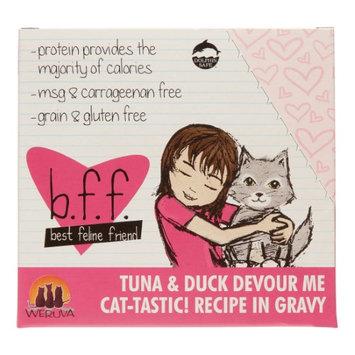 Weruva 784225 12-Pack Best Feline Friend Tuna/Duck Devour Me Gravy Cat Food, 3-Ounce (Pack of 12)