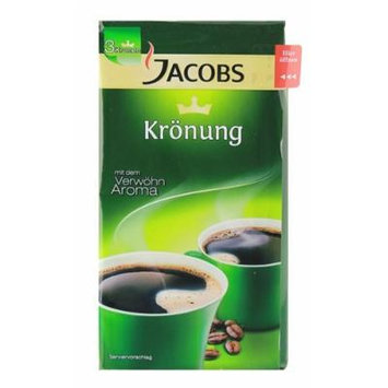 JACOBS KROENUNG GROUND COFFEE 500 G / 17.6 OZ IN VACUUMED PACK - PACK OF FOUR (4), TOTAL 2 KG
