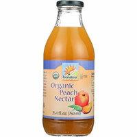 Bionaturae Fruit Nectar - Orangic - Peach - 25.4 oz - case of 6 - 95%+ Organic -