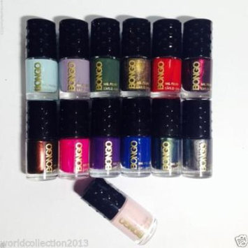Lot of 13 Bongo Nail Polish Assorted Colors (as seen in picture)
