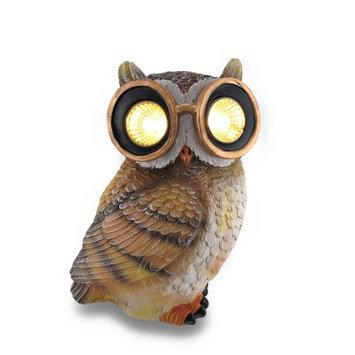 Owl Solar Powered Outdoor Accent Light