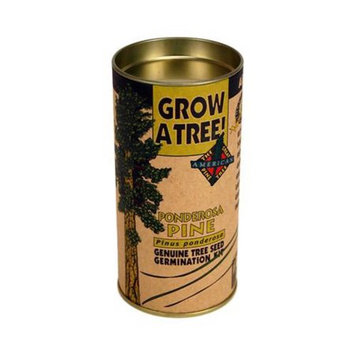 Jonsteen Company Tree Seed Kit: Ponderosa Pine - Seeds, Instructions, Starter Soil, Grow Dome