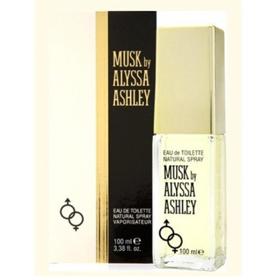 Alyssa Ashley AWHD17 White Musk & Ashley Roll on Deodorant Perfume - 1.7 oz